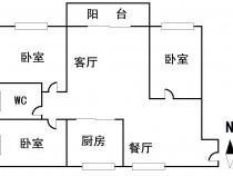 茅山村两室套房出租 2室 1厅 1卫